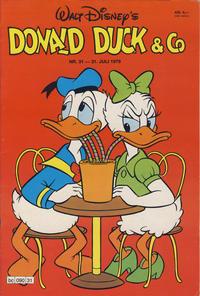 Cover Thumbnail for Donald Duck & Co (Hjemmet / Egmont, 1948 series) #31/1979