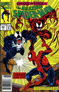Cover for The Amazing Spider-Man (Marvel, 1963 series) #362 [Newsstand]
