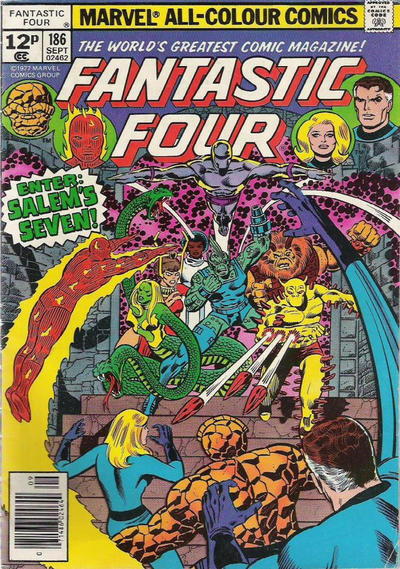Cover for Fantastic Four (Marvel, 1961 series) #186 [30¢]
