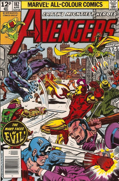 Cover for The Avengers (Marvel, 1963 series) #182 [Regular Edition]