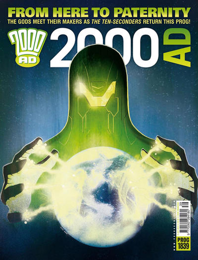 Cover for 2000 AD (Rebellion, 2001 series) #1839