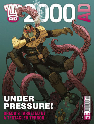 Cover for 2000 AD (Rebellion, 2001 series) #1843