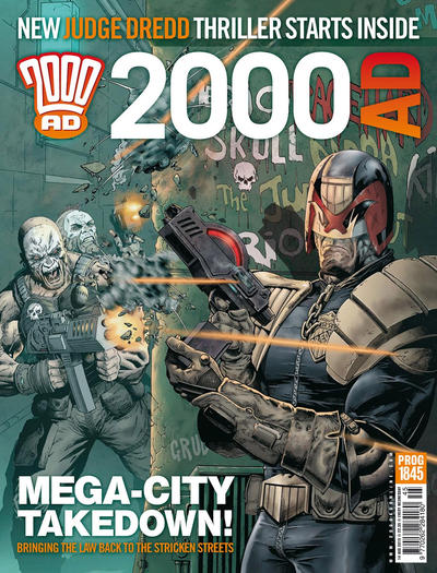 Cover for 2000 AD (Rebellion, 2001 series) #1845