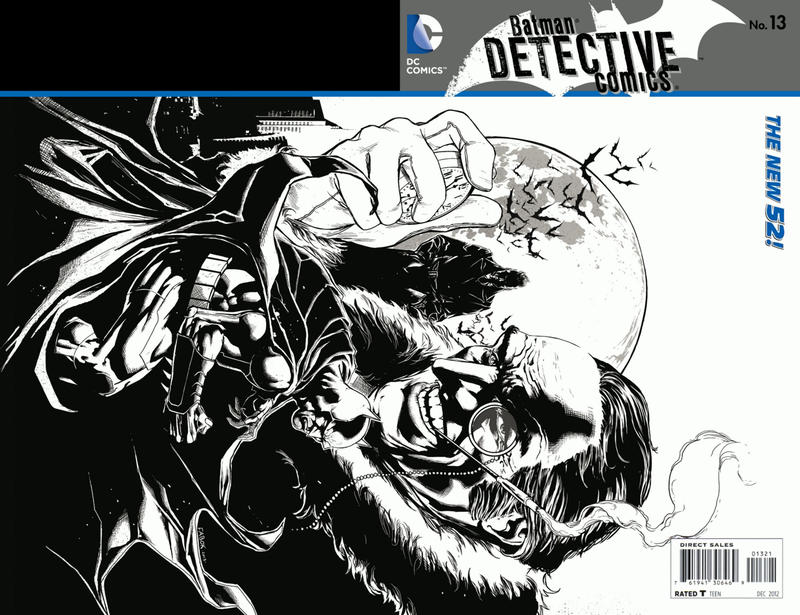 Cover for Detective Comics (DC, 2011 series) #13