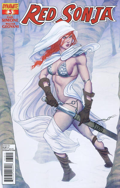 Cover for Red Sonja (Dynamite Entertainment, 2013 series) #3 [Exclusive Subscription Cover]