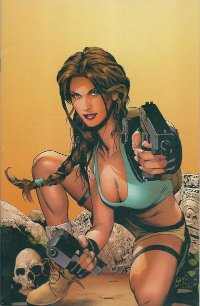 Cover for Tomb Raider: The Series (Image, 1999 series) #40 [Dynamic Forces Exclusive Virgin Cover]