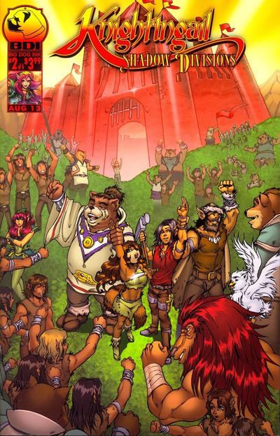 Cover for Knightingail: Shadow Divisions (Big Dog Ink, 2013 series) #2 [Cover B]