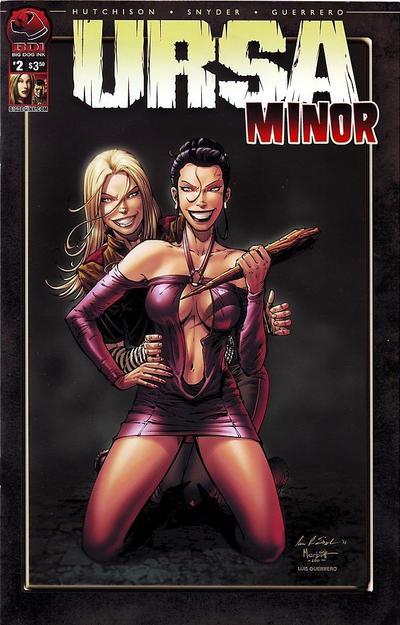 Cover for Ursa Minor (Big Dog Ink, 2012 series) #2 [Cover B - Natali Sanders]