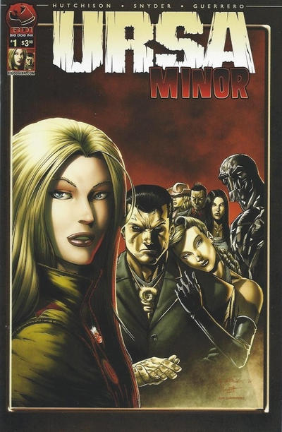 Cover for Ursa Minor (Big Dog Ink, 2012 series) #1