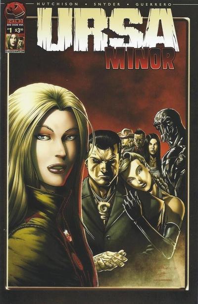 Cover for Ursa Minor (Big Dog Ink, 2012 series) #1 [Cover B - Natali Sanders]