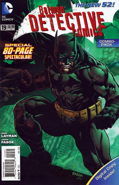 Cover for Detective Comics (DC, 2011 series) #19