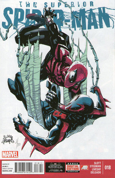 Cover for Superior Spider-Man (Marvel, 2013 series) #18