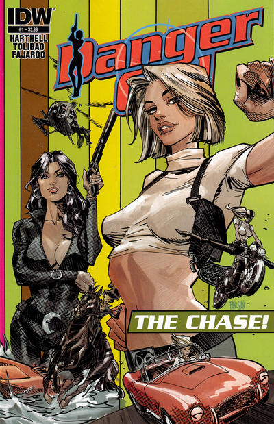 Cover for Danger Girl: The Chase (IDW, 2013 series) #1 [Subscription Cover - Photo]
