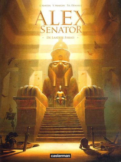 Cover for Alex Senator (Casterman, 2012 series) #2 - De laatste Farao