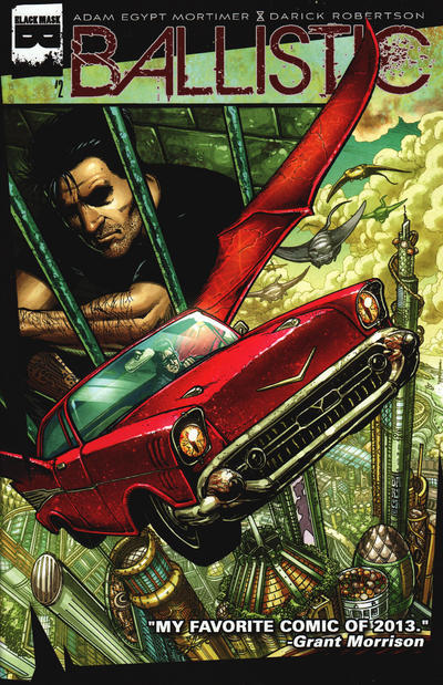 Cover for Ballistic (Black Mask Studios, 2013 series) #2