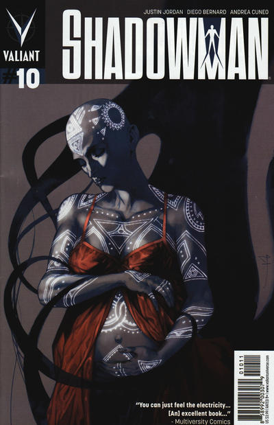 Cover for Shadowman (Valiant Entertainment, 2012 series) #10 [Cover A - Stéphane Perger]