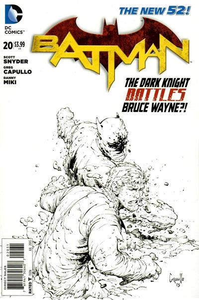Cover for Batman (DC, 2011 series) #20 [Newsstand]