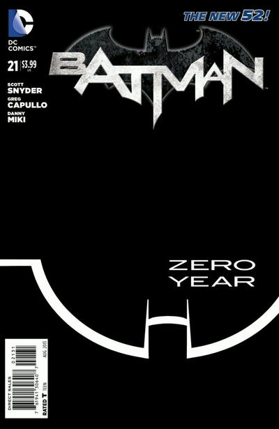 Cover for Batman (DC, 2011 series) #21 [Direct Sales]