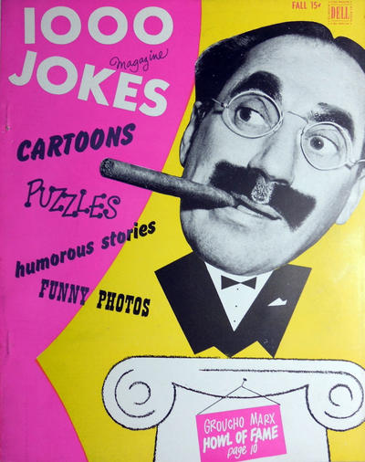 Cover for 1000 Jokes (Dell, 1939 series) #56