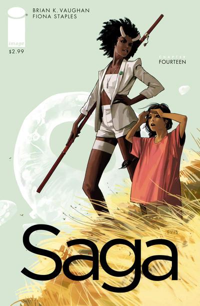 Cover for Saga (Image, 2012 series) #14