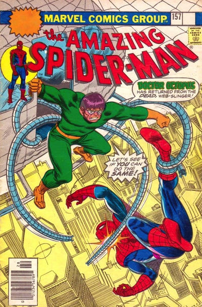 Cover for The Amazing Spider-Man (Marvel, 1963 series) #157 [30¢ Price Variant]