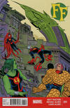 Cover for FF (Marvel, 2013 series) #11