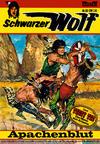 Cover for Schwarzer Wolf (Bastei Verlag, 1975 series) #38