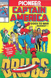Cover Thumbnail for Captain America Goes to War Against Drugs (1992 series) #1 [Pioneer]