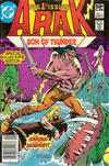 Cover Thumbnail for Arak / Son of Thunder (1981 series) #1 [newsstand edition]