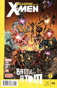 Cover Thumbnail for Wolverine & the X-Men (Marvel, 2011 series) #36 [Direct Edition]