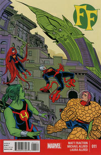 Cover Thumbnail for FF (Marvel, 2013 series) #11