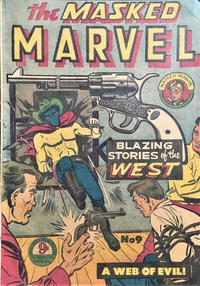 Cover Thumbnail for The Masked Marvel (Atlas, 1953 ? series) #9