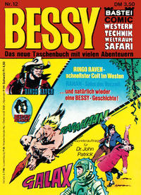 Cover Thumbnail for Bessy (Bastei Verlag, 1973 series) #12