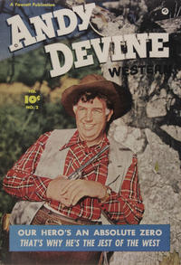 Cover Thumbnail for Andy Devine [Andy Devine Western] (Fawcett, 1950 series) #2