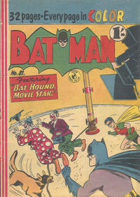 Cover Thumbnail for Batman (K. G. Murray, 1950 series) #81