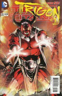 Cover Thumbnail for Teen Titans (DC, 2011 series) #23.1 [Standard Cover]