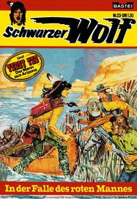 Cover Thumbnail for Schwarzer Wolf (Bastei Verlag, 1975 series) #33
