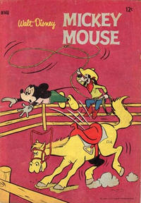 Cover Thumbnail for Walt Disney's Mickey Mouse (W. G. Publications; Wogan Publications, 1956 series) #146