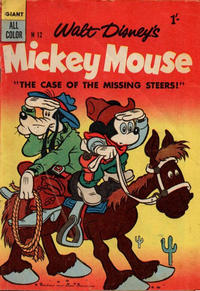 Cover Thumbnail for Walt Disney's Mickey Mouse (W. G. Publications; Wogan Publications, 1956 series) #12