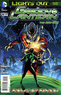 Cover Thumbnail for Green Lantern (DC, 2011 series) #24