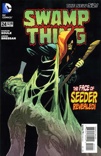 Cover Thumbnail for Swamp Thing (DC, 2011 series) #24
