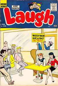 Cover Thumbnail for Laugh Comics (Archie, 1946 series) #119