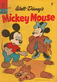 Cover Thumbnail for Walt Disney's Mickey Mouse (W. G. Publications; Wogan Publications, 1956 series) #30