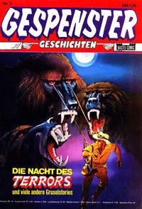 Cover Thumbnail for Gespenster Geschichten (Bastei Verlag, 1974 series) #3