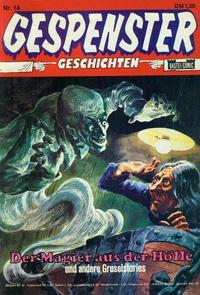Cover Thumbnail for Gespenster Geschichten (Bastei Verlag, 1974 series) #14