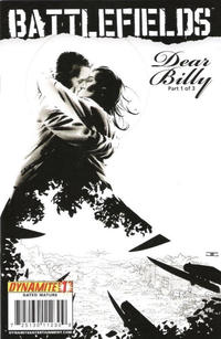 Cover Thumbnail for Battlefields: Dear Billy (Dynamite Entertainment, 2009 series) #1 [Limited Edition Black & White Variant]