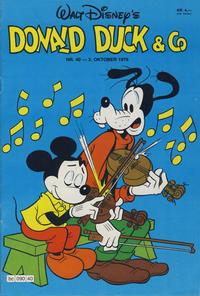 Cover Thumbnail for Donald Duck & Co (Hjemmet / Egmont, 1948 series) #40/1979