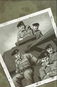 Cover Thumbnail for Battlefields: The Tankies (Dynamite Entertainment, 2009 series) #1 [Virgin Limited Variant]
