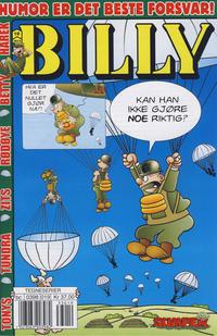 Cover Thumbnail for Billy (Hjemmet / Egmont, 1998 series) #19/2013