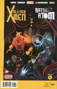 Cover Thumbnail for All-New X-Men (Marvel, 2013 series) #17 [Ed McGuinness Cover]